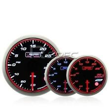 Prosport 60mm Turbo boost gauge PSI Affumicato Stepper il WRC STYLE