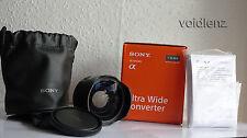 Sony sel075uwc 21mm Ultra Wide Angle Lente di Conversione per sel28f20 E-Mount NEX