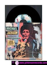 """MICHAEL JACKSON TWENTY-FIVE MILES + UP ON THE HOUSE TOP 7""""45 RPM PROMO CIAO 2001"""