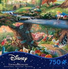 THOMAS KINKADE DISNEY DREAMS PUZZLE ALICE IN WONDERLAND 750 PCS #2903-14