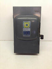 Square D Fusible Disconnect Switch D323N