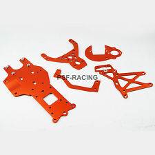 Rear Chassis Gear Plate Braces for HPI Rovan KingMotor Baja 5B 5T SS UK PSF