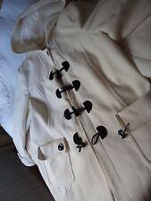 ladies  Ivory coat/jacket   size 22/ 24  hooded