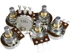 Bourns Pro Audio 250k Solid-shaft Potentiometers for Guitar/Bass, Package of 6