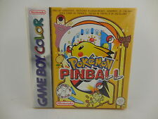 Nintendo Gameboy Color Pokemon Pinball Factory Sealed New in Original Box MIB