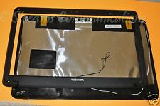 TOSHIBA Satellite C655 C655D Laptop Backcover /Rear LiD +LCD Bezel Wi-Fi Antenna