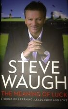 STEVE WAUGH SIGNED BOOK