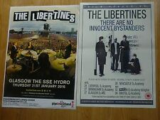 The Libertines UK tour concert gig posters x 2