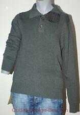 """Esprit ausgefallener Pullover Sweater grau """"M"""""""