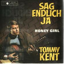 Cover Tommy Kent Sag endlich ja / Honey Girl 60`s Metronome (Only Cover)