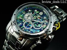 Invicta Men's 48mm Scuba Pro Diver ISA Chrono Abalone Dial Stainless Steel Watch