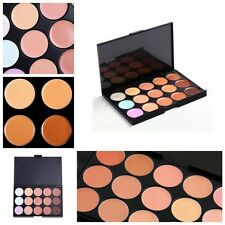 15 Colors pro Neutral Makeup Eyeshadow Camouflage Facial Concealer Palette
