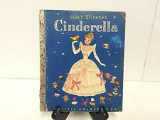 Vintage 1950 Disney Cinderella Little Golden Book