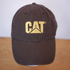 Genuine CAT Caterpillar Embroidered Norscot Cotton Baseball Cap Hat One Size