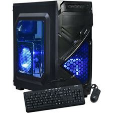 AMD Quad-Core Gaming Desktop PC Computer 3.7GHz 16GB 2TB New Custom Built System