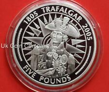 2005 Gibraltar Napoleon Silver Proof £5 Five Pounds Crown Coin