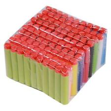 100x For NERF N-Strike Kid Refill Toy Gun Bullet Darts Round Head Blasters 7.2cm