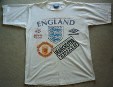 Orig.T-Shirt    European Championship ENGLAND 1996 - Supporters Club / UMBRO  !!
