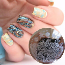 BORN PRETTY Nail Art Stamping Template Image Plate Starfish Shell Theme BP10