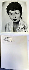 1958 NBC Press Photo ~ ROBERTA PETERS Voice of Firestone