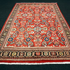 Alter Orient Teppich Floral 310 x 219 cm Rot Perserteppich Old Red Carpet Rug