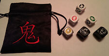 Ghost Stories Deluxe Engraved Dice and Bag