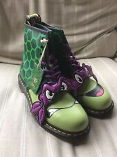 Dr Martens TMNT Donnie Green Men's Boots UK 10