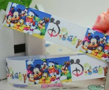 "BTY 7/8"" Disney Letters And Characters Grosgrain Ribbon Hair Bows Lisa"