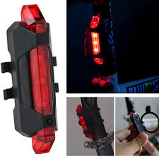 2016 New Rechargeable COB LED Bicycle Bike Cycling Front Rear Tail Lamp Hot Sale