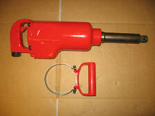 "Pneumatic 1"" Square Drive Impact Wrench with 6"" Extended Anvil"