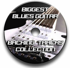 173 x GREATEST BLUES MP3 GUITAR BACKING TRACKS JAM TRACKS CD LIBRARY