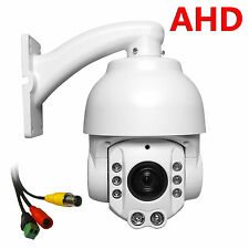"Outdoor Security 4"" MINI AHD PTZ Camera 1.3mp 960P 20X ZOOM Auto Focus IP66"