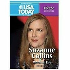 Suzanne Collins: Words on Fire (USA Today Lifeline Biographies)-ExLibrary