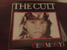 "THE CULT - SPANISH 7"" SINGLE SPAIN SAME SIDED CEREMONY GOTH ROCK ALTERNATIVE"