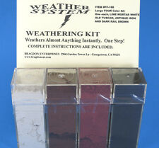 Bragdon  FF-168 Weathering Kit Rail Brown, lime mortar, iron + Weather System ++