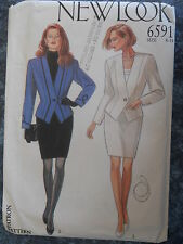 New Look Sewing Pattern--Misses' SUIT-Variations-JACKET & SKIRT-Size: 8-18-UNCUT