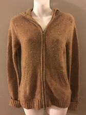Vince 100% Cashmere Hooded Full Zip Cardigan Sweater Women's Sz S