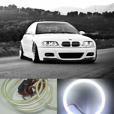 4x HID Style LED 90 cob Angel Eyes Halo Rings Kit light For E38 E39 E46 E36