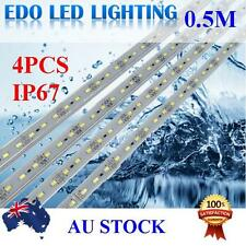 4X 50CM 5630 12V LED STRIP LIGHT BARS CAMPING CARAVAN CAMPING BOAT TENT AWNING