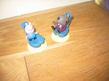 Peppa Pig amigo * Conejo chirridos Barriga Prensado Suave playfigure Aprox 8 INS Alto