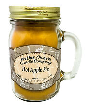Hot Apple Pie Scented Candle in 13 oz Mason Jar by Our Own Candle Company