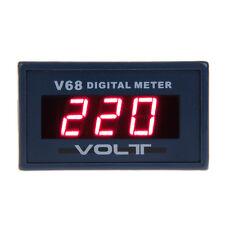 Red LED Panel Meter Mini Digital Voltmeter Meter Volt Test Gauge AC 0V To 600V
