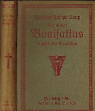 Laux, Der heilige Bonifatius Apostel der Deutschen, Bonifacius, Herder geb. 1922