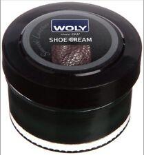 BRAND NEW UNOPENED Woly Black Unisex Leather Shoe Cream Shoe Treatment 50ml