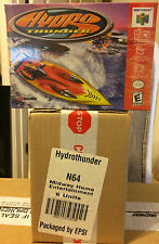 Hydro Thunder (Nintendo 64, 2000)  Brand New Factory Sealed Case Of Six Games