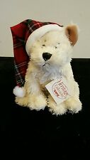 """Heritage Collection by Ganz Plush Christmas Puppy Dog 8"""" NWT"""