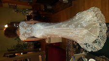 wedding dress Maggie Sottero Francesca ivory size 12