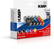 KMP vantaggio Pack c15v bci-3e BK bci-6e BK C M Y ip4000 4000r 5000 p750 780 i865
