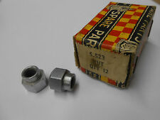 2 NOS Vintage Raleigh Bicycle Front Axle Nuts Narrowed for Forged Dropout SA10