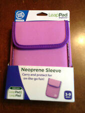 New Leap Frog LeapPad & LeapPad Pad Explorer Pink Purple Neoprene Sleeve Case